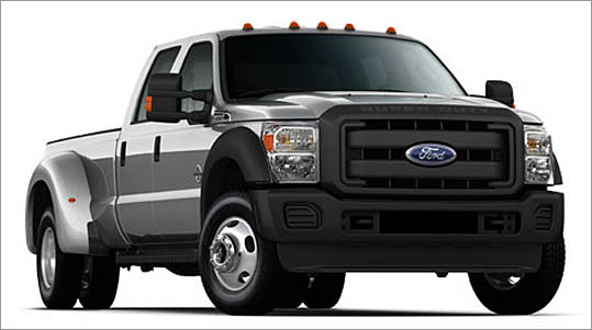 4. Ford F-450 Crew Cab 4WD Theft odds: 1 in 127 Average payout per claim: $11,701 Base price: $50,935
