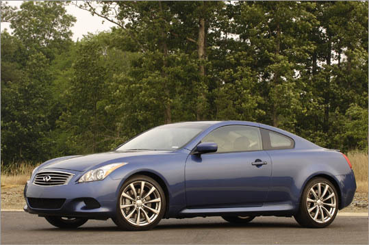 5. Infiniti G37 Coupe Theft odds: 1 in 141 Avg. payout per claim: $10,324 Base price: $36,915