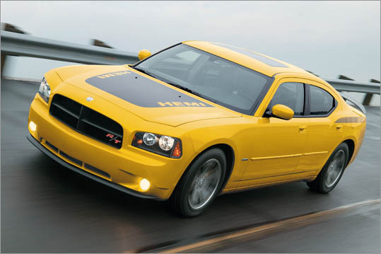 6. Dodge Charger HEMI Theft odds: 1 in 141 Avg. payout per claim: $10,118 Base price: $33,095