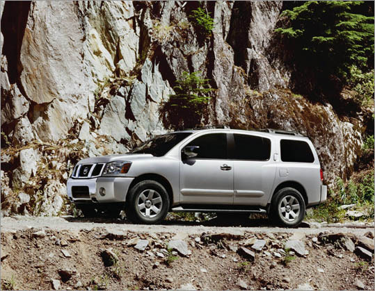 9. Nissan Armada Theft odds: 1 in 222 Avg. payout per claim: $12,458 Base price: $38,460