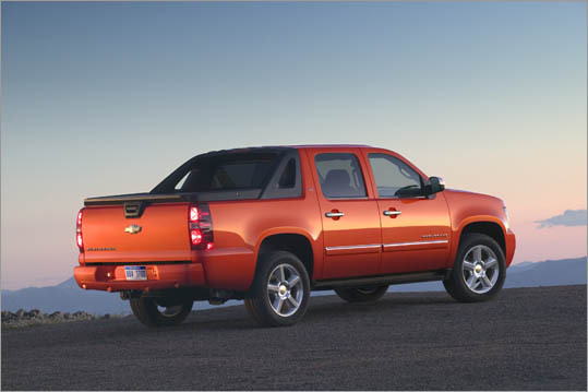 4. Chevrolet Avalanche 1500 Theft odds: 1 in 135 Avg. payout per claim: $7,571 Base price: $31,675