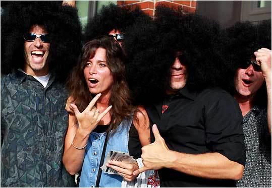 Aerosmith concert fans