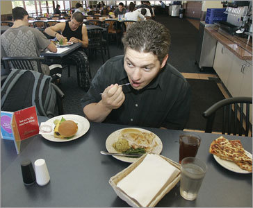 A big meal plan Chances are, a single student will not visit the dining hall 20 times a week. But because most meal plans do not roll over, students are still billed for unconsumed meals. Start with a smaller plan -- most schools let students trade up mid-semester. You can also avoid the Freshman 15 (and save a buck) by keeping food in the dorm room mini-fridge.