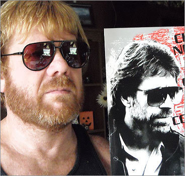 'My fiancée Ray Welge has been told many times he looks like Chuck Norris,' wrote Tammy Allred of Harrisonville, Mo. Do they look alike? survey software