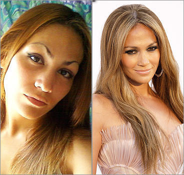 Jasemia Torres, of Orlando, Fla., thinks she's got the same features as Jennifer Lopez. Do they look alike? Market Research