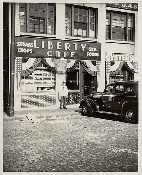 Jimmy Doulos opened his restaurant as Liberty Cafeteria in 1924.