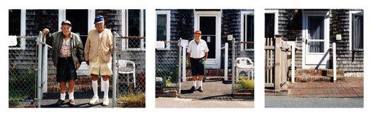 Mischa Richter's triptych 'Anthony Street'