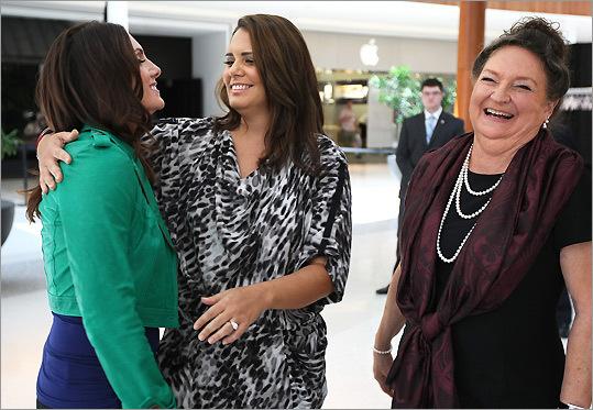 From left: Tiffany Ortiz, Bertha Lowell, and Georgia Nua