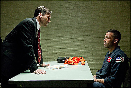 'The Town' (2010) The latest film to feature South Boston is our very own Ben Affleck (pictured, with Jon Hamm). 'The Town' features an all-star cast, including 'Mad Men' star Jon Hamm and Black Lively from 'Gossip Girl.'