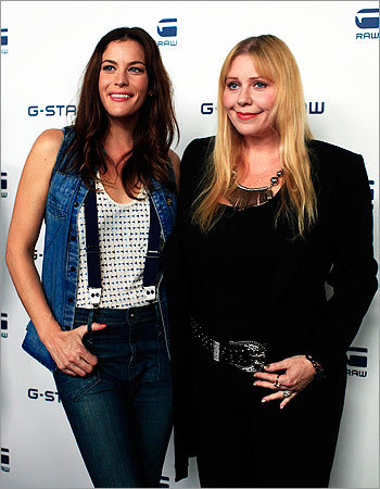 Liv Tyler and her mother Bebe Buell