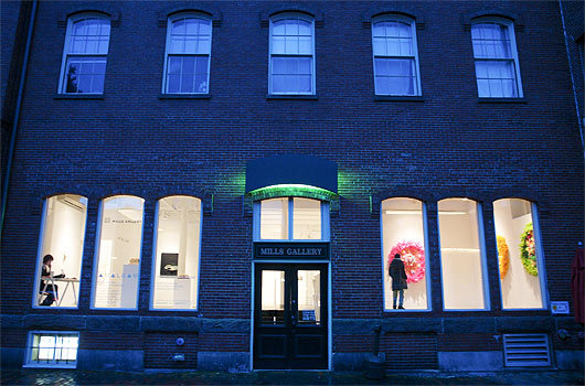 Late nights at the Mills Gallery The Mills Gallery, located at the Boston Center for the Arts, is perfect for those who prefer to peruse art exhibits under the cover of night &mdash; it's open until 9 p.m. Thursday through Saturday. Looking for dance and theater? Check out the BCA's calendar of events for upcoming shows. 551 Tremont St., 617-426-5000. bcaonline.org