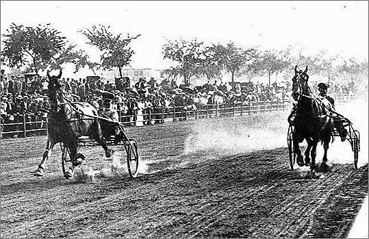 The speedway was once a place where the well-to-do paraded in horse-drawn buggies and thousands cheered on racers.