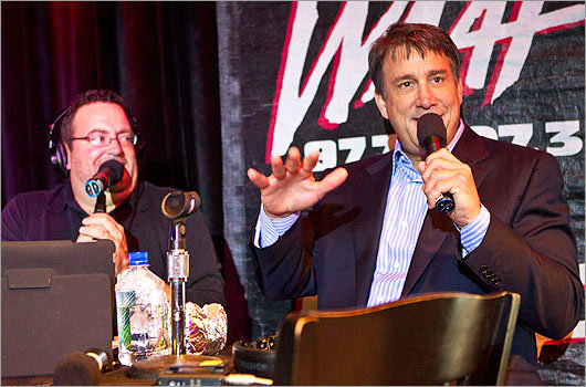 Waaf S Greg Hill Celebrates 20 Years Boston Com