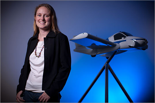 Anna Mracek Dietrich Chief operating officer, Terrafugia, Woburn Two words: flying car. Terrafugia has attracted media attention for its effort to build a vehicle that the FAA will certify, highway authorities will allow on the road, and enough people will want to buy for between $200,000 and $250,000. Dietrich co-founded the company with her husband Carl. They were both educated at MIT's Department of Aeronautics and Astronautics. 'I usually joke that in a start-up, the COO title is just given to whoever does all the little necessary things that no one else wants to do,' Dietrich says.