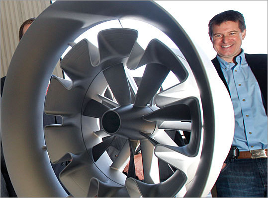 Stanley Kowalski III Chairman and founder, FloDesign Wind Turbine, Wilbraham FloDesign has raised nearly $50 million from venture capitalists and the US Department of Energy to develop a new kind of wind turbine that looks like a jet engine and can potentially extract more power from each passing breeze. FloDesign is also working on underwater turbines to produce power from tides and currents.
