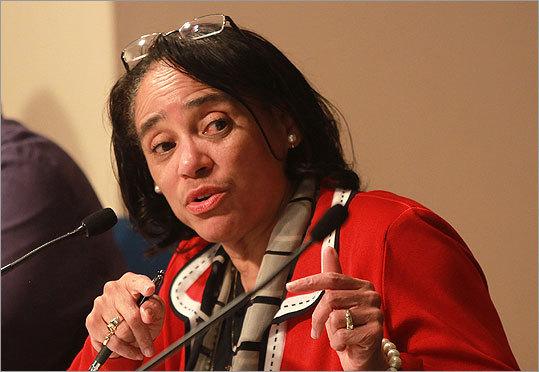 Dr. Carol R. Johnson, Superintendent Boston Public Schools (Barry Chin/ Globe Staff Photo)