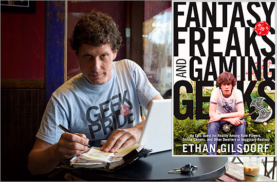 Ethan Gilsdorf is no stranger to the fantasy world. He spent his teens reading swords-and-sorcery novels, painting miniature goblins, and collecting polyhedral dice. Now, 25 years later, has has written a book - ' Fantasy Freaks and Gaming Geeks ' (and by 'gaming,' he doesn't mean Texas hold 'em, he means Dungeons & Dragons) - to unearth the root of his attraction to tales of magical powers and heroic deeds. Gilsdorf has created the following list of fantasy and gaming's all-time heroes for Boston.com, many of which are featured in Fantasy Freaks and Gaming Geeks. He is also hosting a talk about his book , now out in paperback, on Wed., Oct. 20, at 6 p.m. at the Boston Public Library.