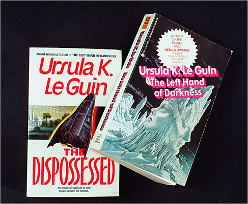 5. Ursula K. LeGuin Best known for her 'Earthsea' series and other richly imagined novels, LeGuin also writes poetry, children's books, essays, and short stories. She sure racks up the literary awards: five Hugos, six Nebulas, the Gandalf Grand Master, the Science Fiction and Fantasy Writers of America Grand Master, and 19 Locus awards (the latter figure tops any other author). Along with Marion Zimmer Bradley ('The Mists of Avalon'), LeGuin proved that women can be part of the sci-fi and fantasy boys-only club, and infuse the genre with esoteric themes – Taoism, feminism, anarchism – her peers shied away from.