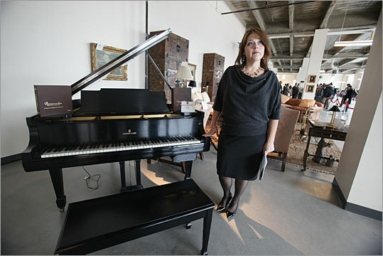 A Steinway piano was also part of the auction. The belongings sold were the last items taken from Madoff's Manhattan and Montauk, Long Island, homes.