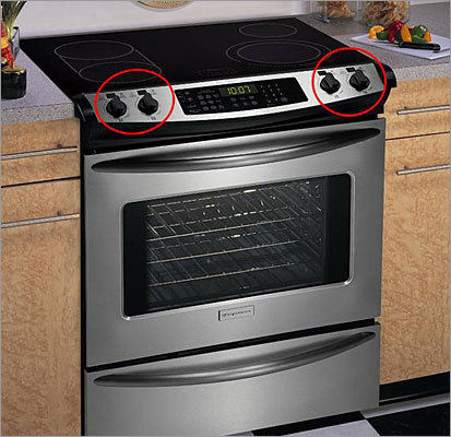 Electric cooktops and slide-in ranges recalled due to fire hazard Recalled: Oct. 21, 2010 Electrolux Home Products Inc. is recalling about 122,000 Frigidaire and Electrolux ICON smoothtop electric cooktops and Frigidaire slide-in ranges with rotary knobs and digital displays because liquids can pool under the control knob and cause the surface heating element to turn on unexpectedly. The products were sold at stores from January 2005 through August 2010 for between $500 and $2,500. Consumer are advised to contact Electrolux to obtain a free repair kit.