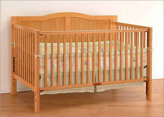 More than 40,000 cribs recalled for safety concerns Recalled: Oct. 22, 2010 The Consumer Product Safety Commission says Ethan Allen, Angel Line, and Victory Land Heritage Collection drop-side cribs could pose a suffocation or entrapment risk if the drop-side rail detaches because of faulty hardware. Ethan Allen has received five reports of incidents with its cribs. Angel Line has received one report, and Victory Land has received 17 reports of incidents involving its Heritage Collection cribs, which are sold by Kmart. Consumers are urged to stop using the cribs and contact the companies for a free repair kit. – Associated Press