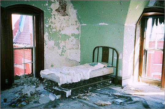 Danvers State Hospital was originally known as the State Lunatic Hospital. It opened in 1878.