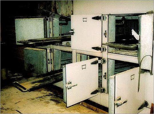 Morgue at Northampton State Hospital