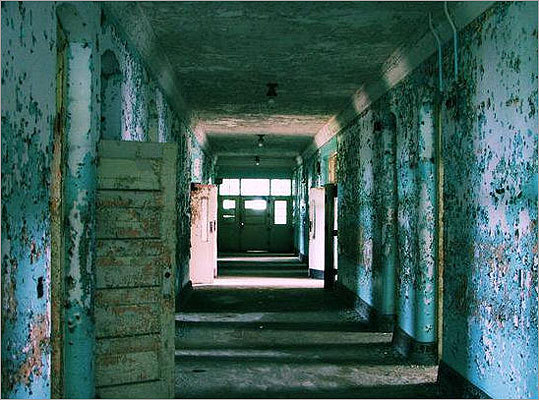 Hallway at Northampton State Hospital