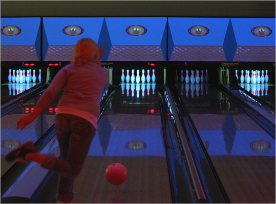 2. Striking injury An employee's finger was stuck in a bowling ball.