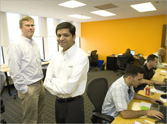 Top small workplaces No. 4: HubSpot Marketing software Based in: Cambridge Massachusetts employees: 147 In January, HubSpot got rid of its two-weeks-per-worker vacation policy. Now employees, who sometimes work hard during unconventional hours and on weekends, can take as many vacation days as they want. Brian Halligan and Dharmesh Shah of HubSpot in the Cambridge Innovation Center.