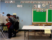 Photos: Scenes from the Mass. polls