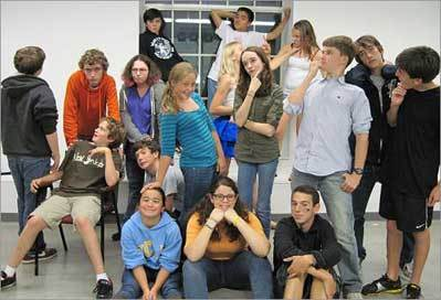 Comedy improv maestro adds youths to mix