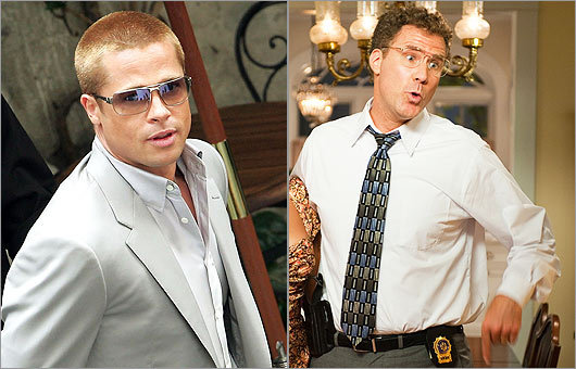 Allen Gamble of 'The Other Guys' and Rusty Ryan of 'Oceans 11'
