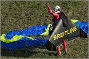 Photos: Swiss man flies