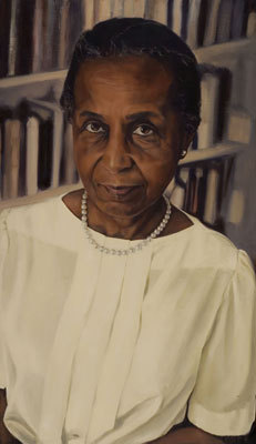 The late Eileen Jackson Southern, a music professor and chairwoman of Harvard's Afro-American studies department, was the first black woman to receive tenure at Harvard. Her portrait is hung in the Adams House dining hall.