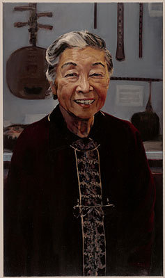 Rulan Pian, former professor of East Asian languages and music, served Harvard for 35 years. She was Harvard's first minority house master. Her portrait is hung in Cabot House.