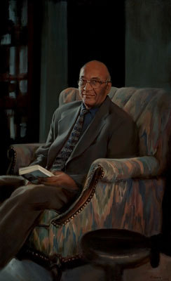Stanley Tambiah served Harvard for 35 years as a professor of anthropology. His portrait is hung in Kirkland House.