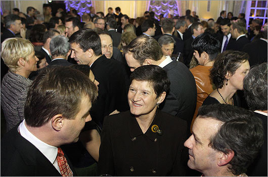 Nov. 10 in Boston The association, which has been representing local businesses since 1923, drew a crowd of 400 guests to the annual dinner.