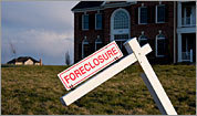 Foreclosures hit 'burbs