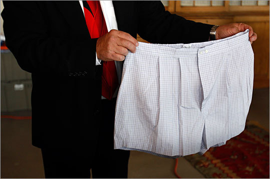 Virtually nothing found in Madoff's possession were being held back. Yes, even his boxer shorts were for sale. The boxers came with a pair of silk Armani pants and dozens of pairs of socks, in a lot estimated to be worth $960 to $1,370.