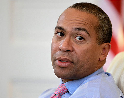 October 2005 Gubernatorial candidate Deval Patrick declared his support for the wind project.