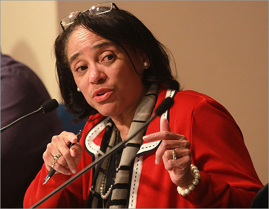 FILE--Carol Johnson, superintendent of Boston schools