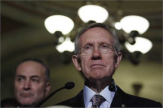 US Senate Majority leader Harry Reid (D-NV) is seeking a vote on legislation that would repeal 'don't ask, don't tell' after Thanksgiving.