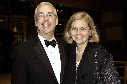 Nov. 19 in Boston Federal Judge George O'Toole and his wife, Lucy Flynn, of Winchester.