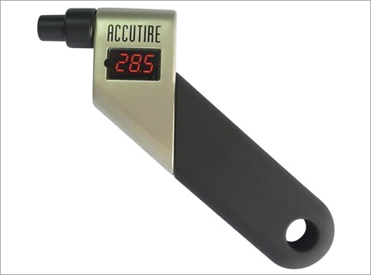 Accutire Digital Tire Gauge Price: $9.99 Tell gift recipients properly inflated tires help cars improve gas mileage. Then tell them to save all the money they don't spend at the gas station and buy you something nice next year.