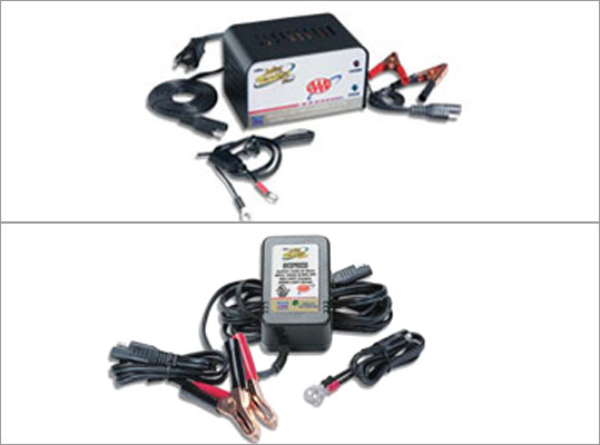 AAA Battery Tender Price: $39.95 to $64.95 Use this to exercise batteries in cars and motorcycles that don't rev up often. Batteries that don't get a regular workout can die quickly when drivers resume regular usage.