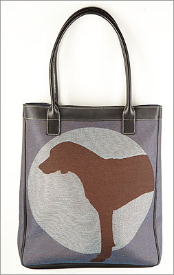 The fetching collars, sweaters, and other canine accouterments at Pawsitively Marblehead will keep Fido looking stylish; the dog-themed coasters, prints, and other gifts will make his owner smile. Crypton tote , William Wegman collection, $120 each at PAWSITIVELY MARBLEHEAD, 9 Pleasant Street, Marblehead, 781-990-0081