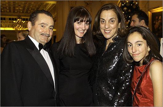 Nov. 27 in Boston From left: George Sakellaris, Areti Sakellaris, Cathy Sakellaris, and Christina Sakellaris, all of Milton.