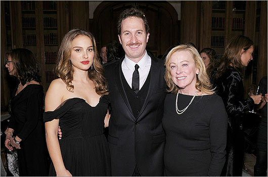 Portman, Aronofsky and Nancy Utley