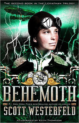 Behemoth' In Scott Westerfield's 'Behemoth' (Simon Pulse), Deryn (of 'Leviathan') serves as a cabin boy for Darwin's granddaughter, Nora Darwin Barlow, on a diplomatic mission to the Ottoman Empire. With escapes, chases, and strange beasts, this steampunk novel entertains but educates at the same time.